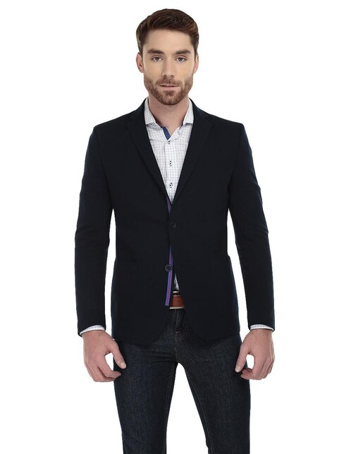 88dbe8fdcd Saco de vestir Original Penguin corte slim fit azul marino